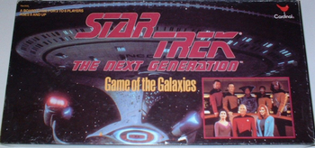 Star Trek: The Next Generation Game of the Galaxies board game