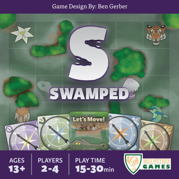 Swamped board game