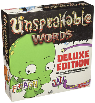 Unspeakable Words: Deluxe Edition board game