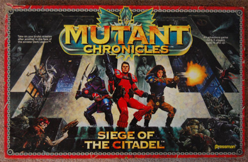 Mutant Chronicles: Siege of the Citadel board game