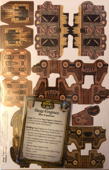 Heroes of Land, Air & Sea: Siege Engines Mini-Expansion board game