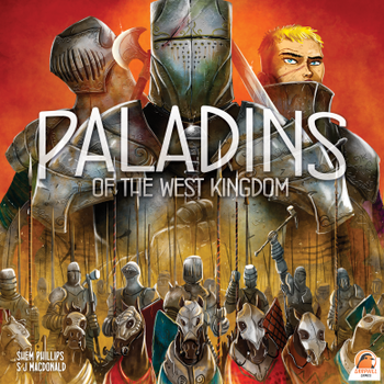 Paladins of the West Kingdom board game