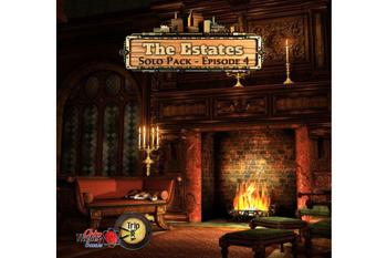 Triplock: The Estates Solo Pack board game