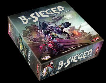 B-Sieged: Darkness & Fury board game