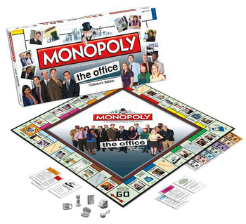 Monopoly: The Office Collector's Edition board game