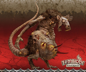 Zombicide: Black Plague – Abominarat and Dr. Stormcrow board game