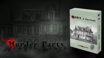 Mort à Sacinay - Murder Party board game