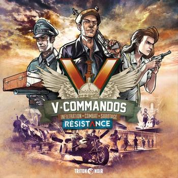 V-Commandos: Résistance board game