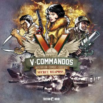 V-Commandos: Secret Weapons board game