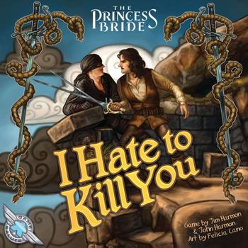 The Princess Bride: I Hate to Kill You board game