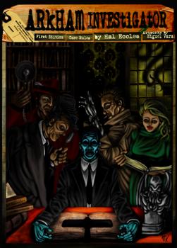 Arkham Investigator board game