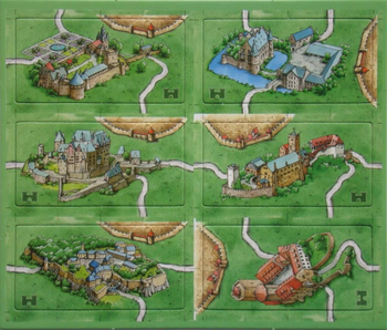 Carcassonne: Castles in Germany board game