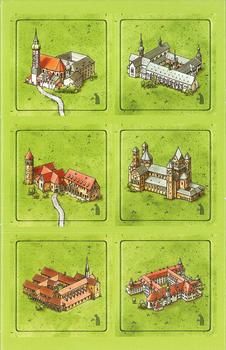 Carcassonne: Klöster in Deutschland board game