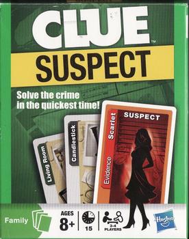 Clue Suspect board game