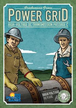 Power Grid: High-Voltage DC Transmission Passage C board game