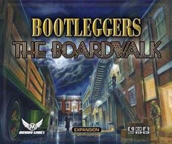 Bootleggers: The Boardwalk board game