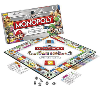 Monopoly: Nintendo Collector's Edition board game