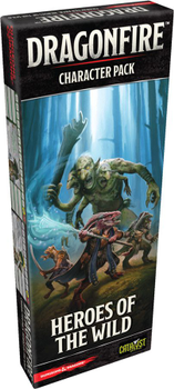 Dragonfire: Character Pack - Heroes of the Wild board game