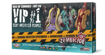 Zombicide: Box of Zombies Set #9 – VIP #1: Very Infected People board game