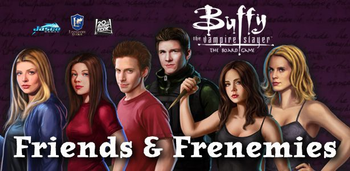 Buffy the Vampire Slayer: Friends and Frenemies board game