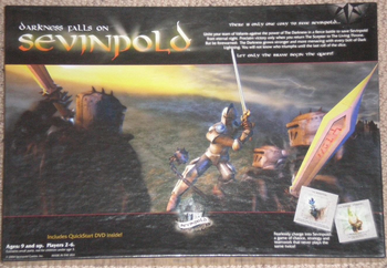 Darkness Falls on Sevinpold board game