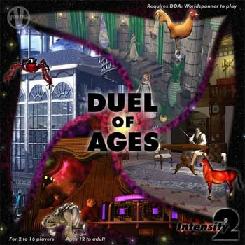 Duel of Ages Set 2: Intensity board game