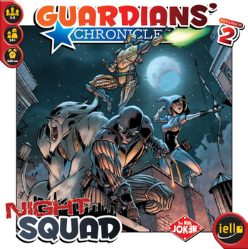 Guardians' Chronicles: Night Squad board game
