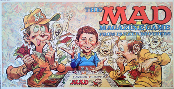 The Mad Magazine Game board game