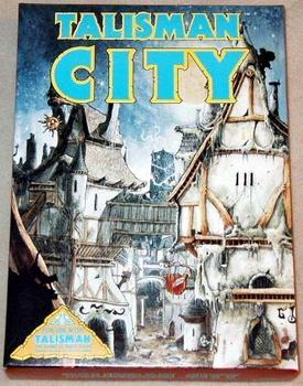 Talisman City board game