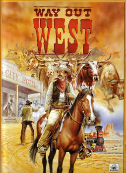 Way Out West board game
