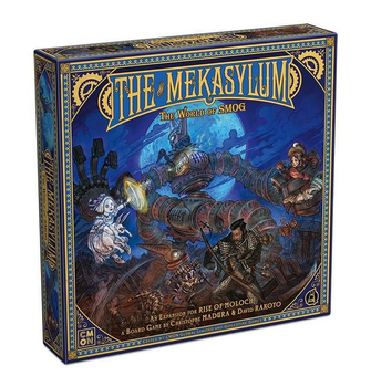 The World of SMOG: Rise of Moloch – The Mekasylum board game
