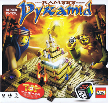 Ramses Pyramid board game