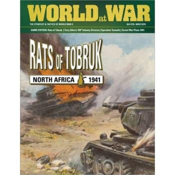 Rats of Tobruk board game