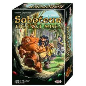 Saboteur: The Lost Mines board game