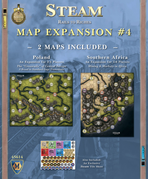 Steam: Map Expansion #4 board game