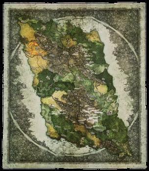 Spirit Island: Expansion Playmat board game