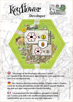 Keyflower: Developer board game