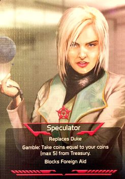 Coup: Speculator Promo board game