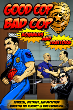 Good Cop Bad Cop: Bombers and Traitors board game