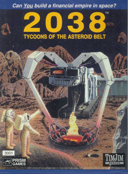 2038: Tycoons of the Asteroid Belt board game