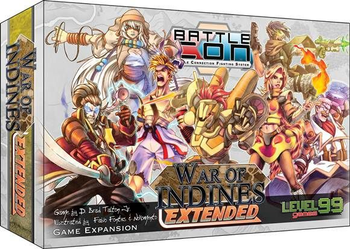 BattleCON: War of Indines Extended Expansion board game