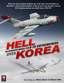Hell Over Korea board game