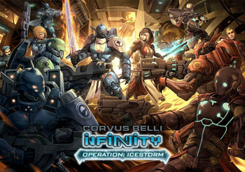 Infinity: Operation Icestorm board game