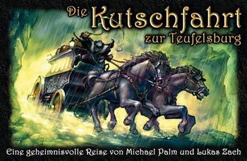 Die Kutschfahrt zur Teufelsburg board game