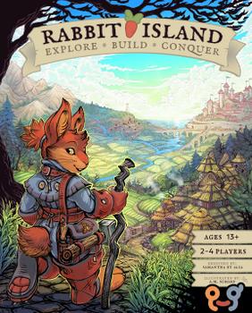 Rabbit Island: Explore, Build, Conquer! board game