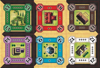 Alhambra: The Magical Buildings board game