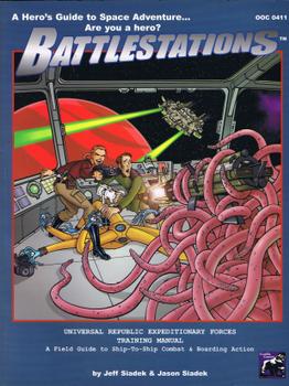 Battlestations: Core Rulebook board game