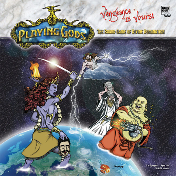 Playing Gods: The Board Game of Divine Domination board game