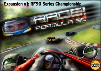 Race! Formula 90: Expansion #1 – RF90 Series Championship board game
