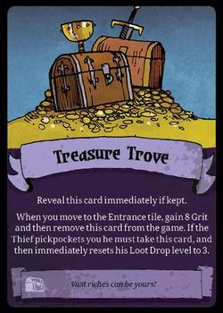 Vast: The Crystal Caverns – Treasure Trove Promo Card board game
